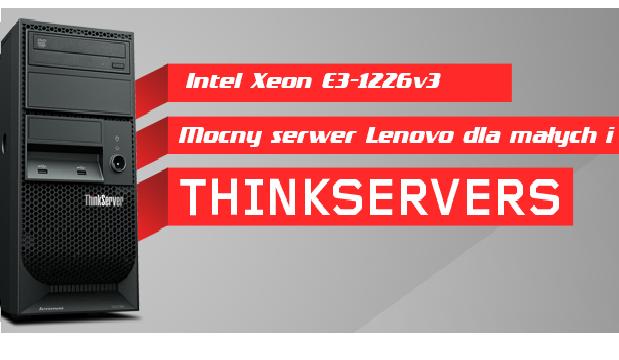 Nowy serwer dla firm Lenovo TS140