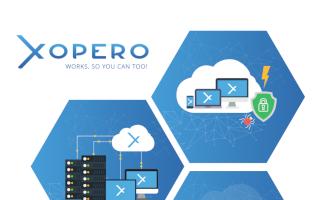 XOPERO CLOUD – Backup w chmurze