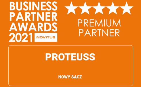 Proteuss partnerem Premium Novitusa